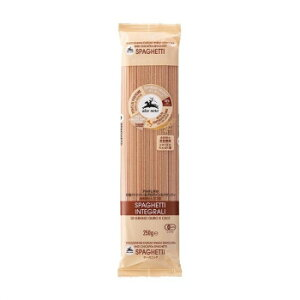 アルチェネロ 有機ファイバー&プロテインスパゲッティ (全粒粉とヒヨコ豆) 250g 20個セット C6-45【同梱・代引き不可】