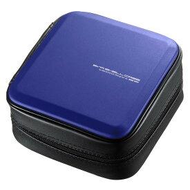 ブルーレイディスク対応セミハードケース(60枚収納・ブルー) FCD-WLBD60BL【同梱・代引き不可】
