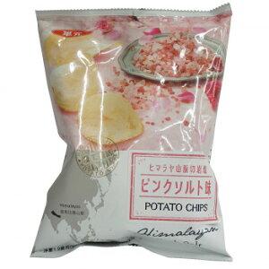 華元 ポテトチップス ヒマラヤ岩塩 ピンクソルト味 54g 12個セット 992【同梱・代引き不可】