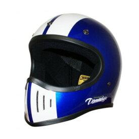 ダムトラックス(DAMMTRAX) BLASTER-改 コブラ ヘルメット BLUE M【同梱・代引き不可】