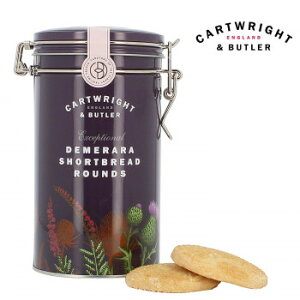 Cartwright&Butler カートライト&バトラー デメララ ざらめ バターショートブレッド 6缶 10041049【同梱・代引き不可】