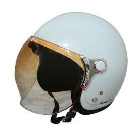 ダムトラックス(DAMMTRAX) バブル ビー ヘルメット PEARL WHITE【同梱・代引き不可】