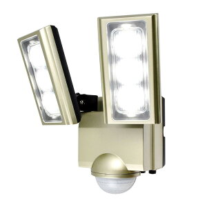 ELPA(エルパ) 屋外用LEDセンサーライト AC100V電源(コンセント式) ESL-ST1202AC【同梱・代引き不可】