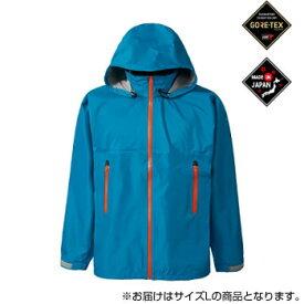 GORE-TEX ゴアテックス VS レインジャケット メンズ SJ136M ブルー Lサイズ【同梱・代引き不可】