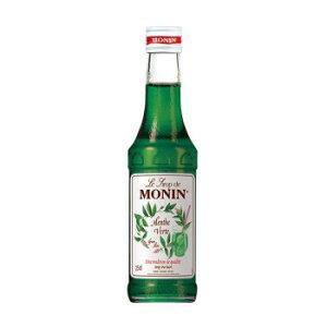 モナン グリーンミント・シロップ 250ml 6個セット R4-09【同梱・代引き不可】