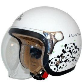 ダムトラックス(DAMMTRAX) カリーナ ヘルメット WHITE/PANDA【同梱・代引き不可】