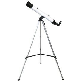 MIZAR(ミザールテック) 屈折式天体望遠鏡 30〜75倍 45mm口径 経緯台 白 TS-456【同梱・代引き不可】