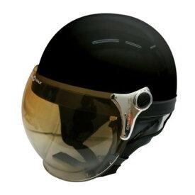 ダムトラックス(DAMMTRAX) バブル ビー ハーフ ヘルメット PEARL BLACK【同梱・代引き不可】