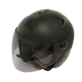 ダムトラックス(DAMMTRAX) BIRD HELMET ヘルメット MAT BLACK LADYS【同梱・代引き不可】