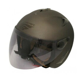 ダムトラックス(DAMMTRAX) BIRD HELMET ヘルメット FLAT GUNMETAL LADYS【同梱・代引き不可】