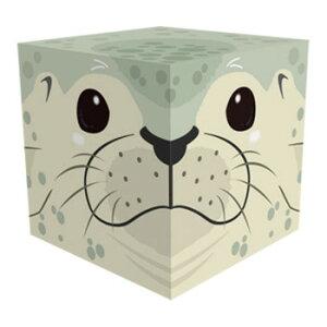 Cube Box 小(ソーダキャンディ5個入) アザラシ 10個セット CB510【同梱・代引き不可】