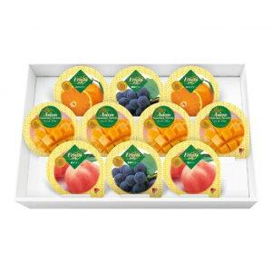 金澤兼六製菓 詰め合せ マンゴープリン&フルーツゼリーギフト 10個入×12セット MF-10【同梱・代引き不可】
