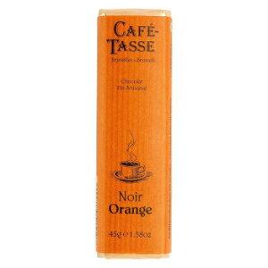 ★4日20時〜4H限定全品P5倍★ CAFE-TASSE(カフェタッセ) オレンジビターチョコ 45g×15個セット【同梱・代引き不可】
