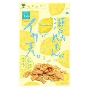 まるか食品 イカ天瀬戸内れもん味 80g(12×4)【同梱・代引き不可】