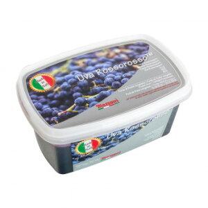 マッツォーニ 冷凍ピューレ ブドウ 1000g 6個セット 9404【同梱・代引き不可】