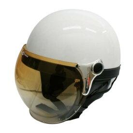 ダムトラックス(DAMMTRAX) バブル ビー ハーフ ヘルメット PEARL WHITE【同梱・代引き不可】
