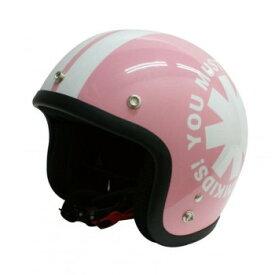 ダムトラックス(DAMMTRAX) ポポウィール ヘルメット PEARL PINK【同梱・代引き不可】