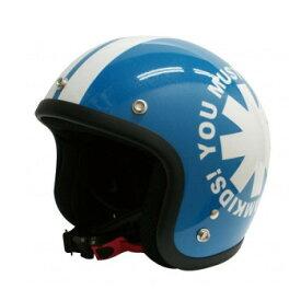 ダムトラックス(DAMMTRAX) ポポウィール ヘルメット PEARL BLUE【同梱・代引き不可】