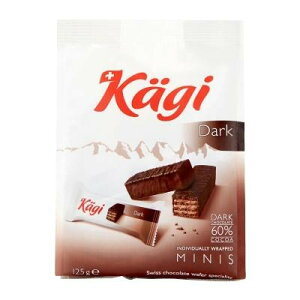 Kagi(カーギ) チョコウエハース ミニダークバッグ 125g×12袋【同梱・代引き不可】