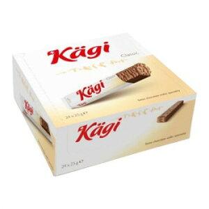 Kagi(カーギ) チョコウエハース ミルクバー 25g×24本【同梱・代引き不可】