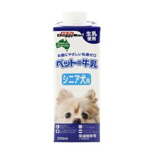 (まとめ)ドギーマンハヤシ ペットの牛乳 シニア犬用 250ml 【犬用・フード】【ペット用品】【×24セット】 【同梱・代金引換不可】