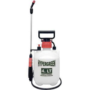 蓄圧式 噴霧器/散布機 ハイパー 4L 〔ガーデニング用品 園芸用品 家庭菜園 農作業 農業〕同梱・代金引換不可