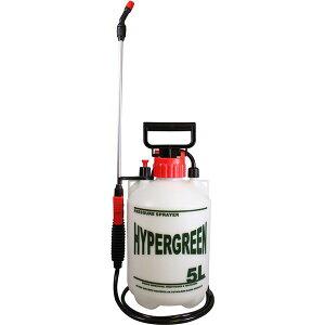 蓄圧式 噴霧器/散布機 ハイパー 5L 〔ガーデニング用品 園芸用品 家庭菜園 農作業 農業〕同梱・代金引換不可