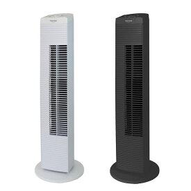 タワー扇風機 メカ式 首振り スリムファン タワーファン タワー型扇風機 スリム扇風機 TEKNOS テクノス TF-820-W ホワイト TF-821-K ブラック