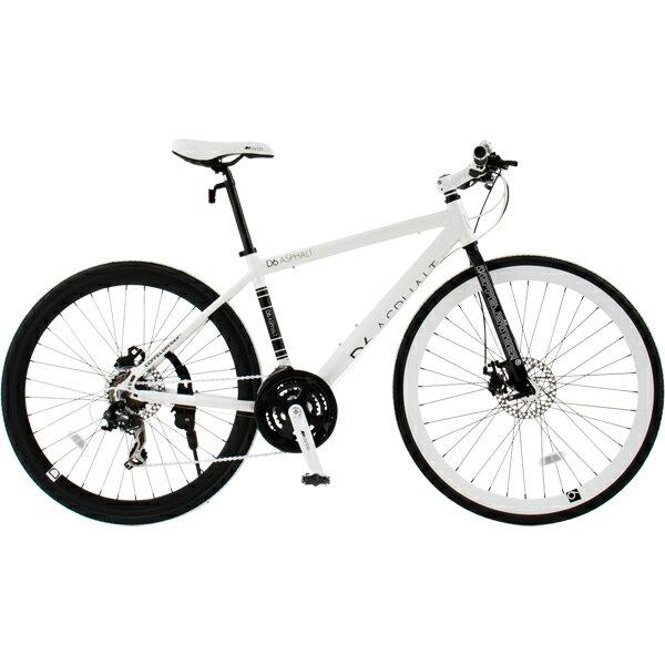 【送料無料】 自転車 DOPPELGANGER(ドッペルギャンガー) 700cバイク D6 ASPHALT 【代引不可】【同梱不可】