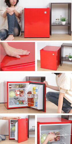 1ドア冷蔵庫小型48Lワンドアペルチェ方式右開きSunRuck(サンルック)冷庫さんSR-R4802ミニ冷蔵庫小型冷蔵庫静音