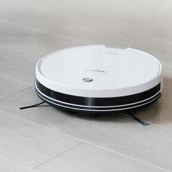 【予約販売】【送料無料】自動掃除機ロボット掃除機床用水拭き対応ロボットクリーナーECOVACSエコバックスジャパンDEEBOTDM82洗練されたデザイン鏡面ホワイトカラー