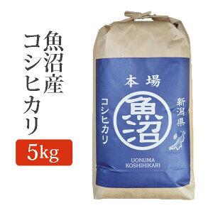 令和2年産 2020年度産 米 玄米 魚沼産コシヒカリ こしひかり 玄米 5Kg (5キロ) 玄米 魚沼産 コシヒカリ u-koshihikari-g5k 【代引/同梱不可】