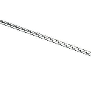 喜平ネックレス プラチナ六面ダブル(20g 40cm) 永遠に輝きを失わない美しさ 造幣局検定刻印入(ホールマーク入) PN0JK6080400 【代引不可】