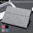 【タッチペン付】Surface GO GO2 Surface Pro4 Pro5 Pro6 Pro7 キーボード タイプカバー収納可能 光沢 ビンテージデザ…
