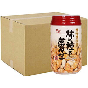 ケース 24個 柿の種と落花生 ビールのつまみ 120g 350ml缶と同じサイズのPET容器に入ったおつまみ 龍屋物産 ギフト プレゼント(4975374911206)