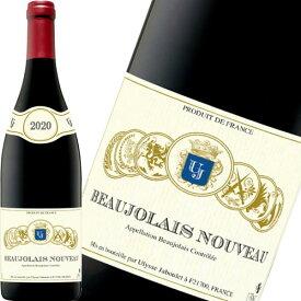 新酒先行予約11月19日以降お届け ボジョレーヌーボー 2020 赤ワイン ウリッス ジャブレ ボジョレー ヌーヴォー 2020 750ml 瓶 ギフト プレゼント(4908075949339)