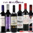 赤ワイン6本セット デイリー赤ワインセット 750ml×6本 詰め合わせ 飲み比べ 世界各国 夢の競宴 送料無料(一部地域除く)