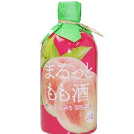 菊水酒造 まるっと もも酒 500ml 果汁50% フルーツのリキュール