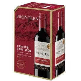赤ワイン フロンテラ カベルネ・ソーヴィニヨン フレッシュサーバー ボックスワイン 赤 3000ml バッグ・イン・ボックス チリワイン コンチャ・イ・トロ 3L ギフト プレゼント(4973480328802)
