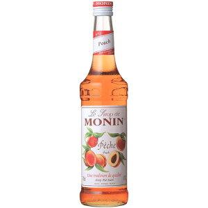 モナン MONIN ピーチ シロップ 700ml フランス ノンアルコール シロップ ホワイトデー プレゼント