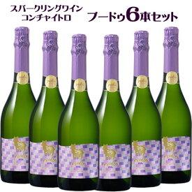 特価 6本セット コンチャ・イ・トロ プードゥ スパークリング ワイン 750ml チリ