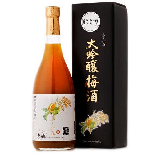 食べるフルーツリキュール 子宝 大吟醸梅酒 にごり 楯の川酒造 山形のお酒 720ml