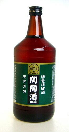 【陶陶酒】陶陶酒 銭形印・辛口 1000ml 滋養強壮・健康酒