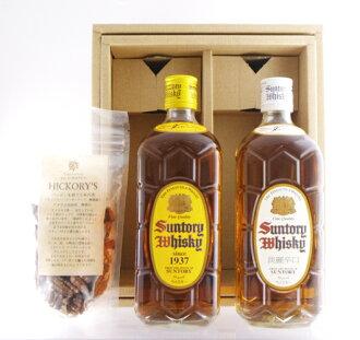 Suntory square bottle + otsumami set 02P01Sep13