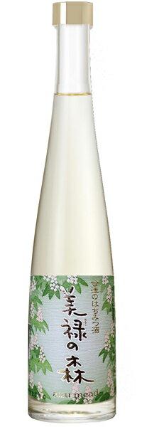 【峰の雪酒造】会津の純粋はちみつ酒 美禄の森 520ml [甘口] ミード (希少品につき入荷に1週間程かかります)