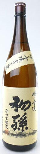 【東北銘醸株式会社】初孫 特別本醸造 峰の雪渓 1800ml 辛口本醸造 山形の日本酒