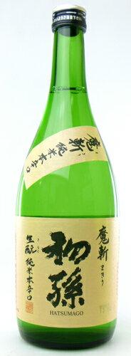 【東北銘醸株式会社】初孫 純米本辛口 魔斬(まきり) 720ml 山形の日本酒