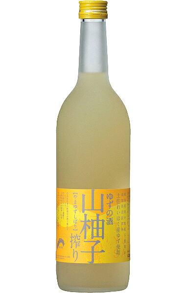 【司牡丹】 山柚子搾り ゆずの酒 720ml [甘口]