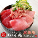 【送料無料】天然メバチ鮪三種セット(中トロ、赤身、ネギトロ)自然解凍OK(まぐろ 刺身 海鮮丼 手巻き寿司 誕生日 …