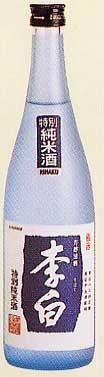 李白 特別純米 1800ml [416]